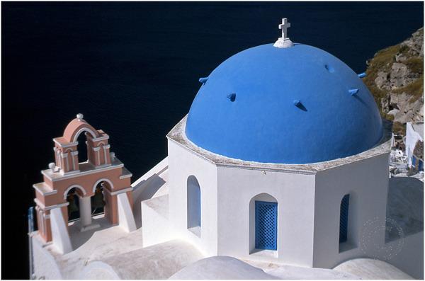Blue-Domed Church
