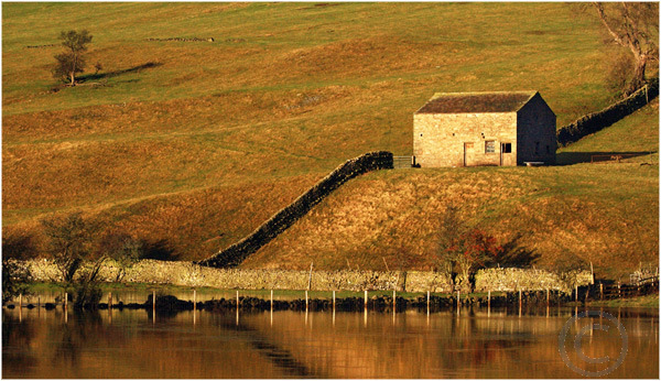Dales Barn in Morning Light