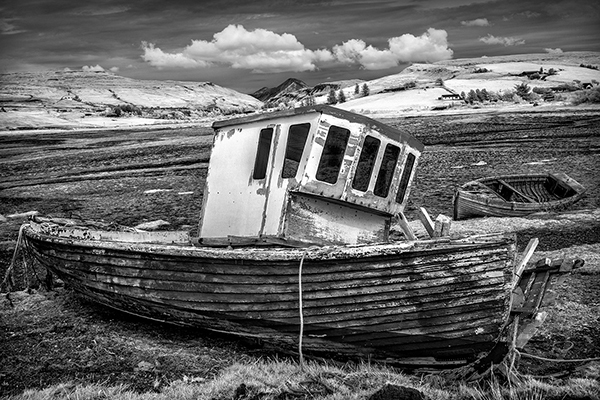 Derelict Boats Skye