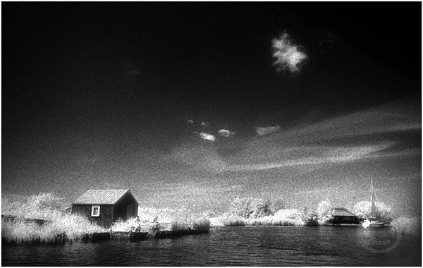 Fishing Hut and Cloud