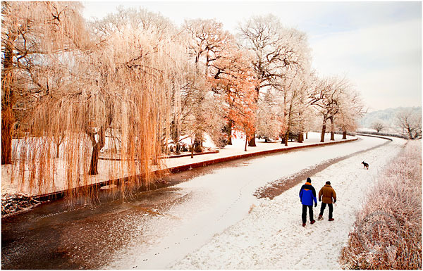Frozen Canal Milford