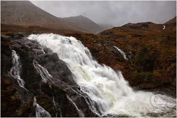 Waterfall in Glen Coe