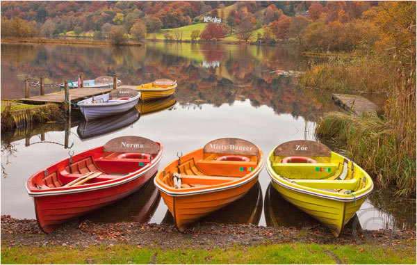 Boats at Rest Grasmere