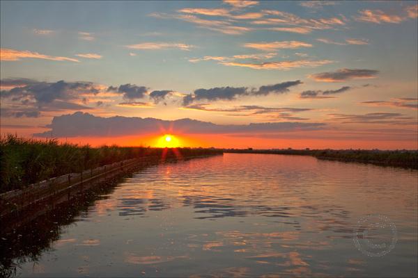 Norfolk Broads Sunset