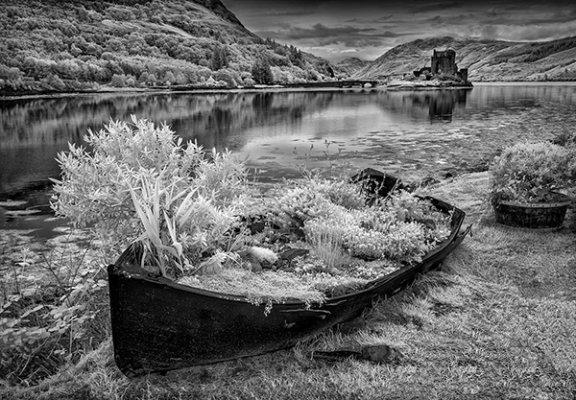 Recycled Boat Eileen Donan Castle