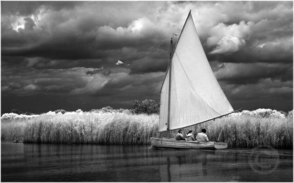 Sailing on the Bure 1