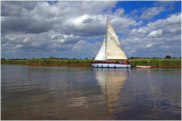 Sailing on the Bure 2