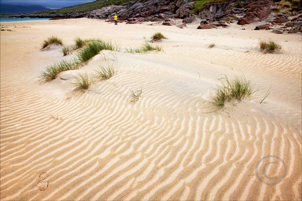 Sand Patternj Isle of Harris