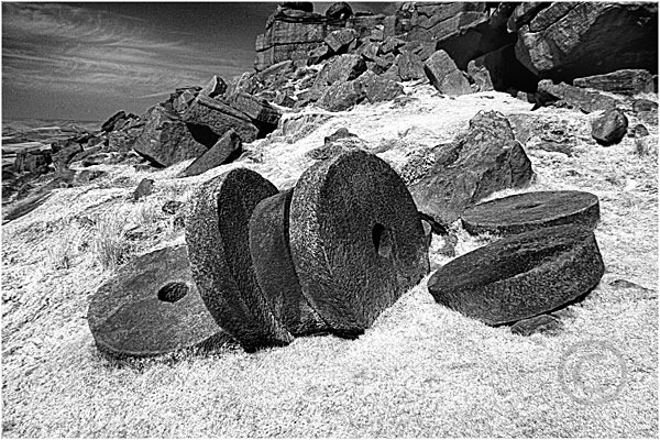 Millstones at Stanage Edge 1