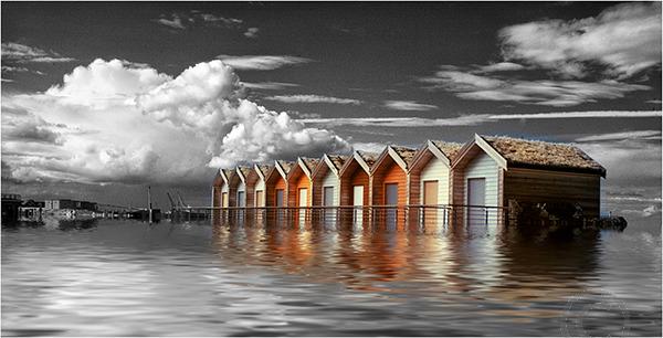 Suncken Beach Huts
