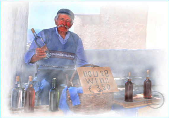 Greek Wine Seller
