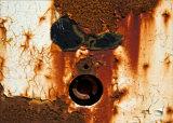 Face in rust