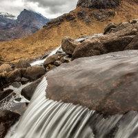 Waterslide in The Cuillins