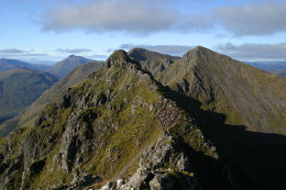 "Aonach Eagach ""the notched ridge"""