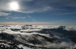 Ben Cruachan under a sea of clouds