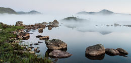 Lochan na h-Achlaise, Morning Mists