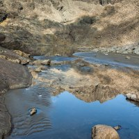 Sgùrr Alasdair reflected in Loch Coir' a' Ghrunnda