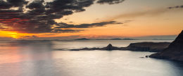 Hebrides Sunset from Ramasaig.