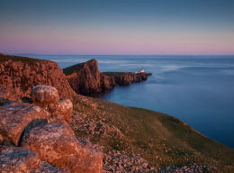 Neist Point Lighthouse...the end of the world?