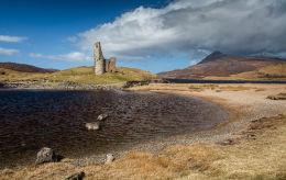Ardvrek Castle  (Aird Breac)