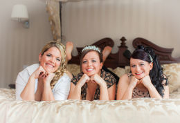 The Girls Posing