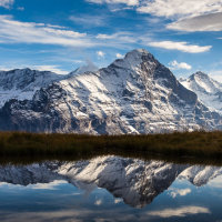 The Eiger Reflects