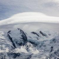 Mont Blanc from Le Brévent
