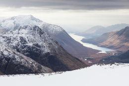 View to Ben Starav and Loch Etive