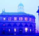 Order Ref 012: The Sheldonian Theatre Oxford in the early morning mist