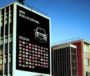 Order No 019: A billboard for the Mini at the BMW car factory, Oxford.