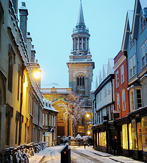Oxford Christmas Cards