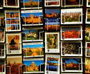 Order No 041:  A mass of Oxford postcards taken outside a newsagent in Broad Street, Oxford.