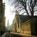 Order No 057: A winter's morning in Turl Street, Oxford