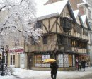 Order No X080: Season's Greetings! A fifteenth-century building in Cornmarket Street, Oxford