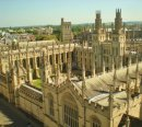 Order No 085: An aerial view of All Souls College, Radcliffe Square, Oxford