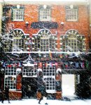 Order No 092: Snow falls on St Aldates Tavern, St Aldates, Oxford
