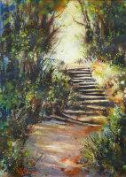 The Breadwalk Steps Acrylic