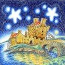 starry eilean donan castle