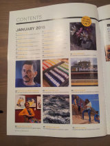 Index page Artists and Illustrators magazine
