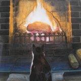 Ruddles The Fire Cat
