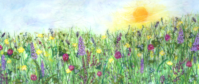 'Field of Dreams' Limited edition print, professionally mounted and framed, price £185