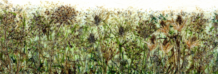 'Golden Days' Limited edition print, professionally mounted and framed, price £185