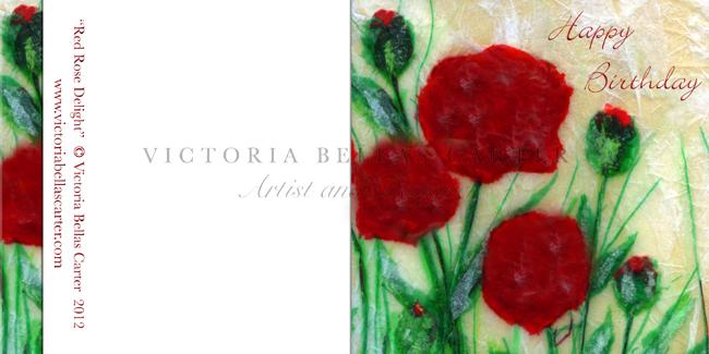 Happy Birthday 'Red Rose Delight'
