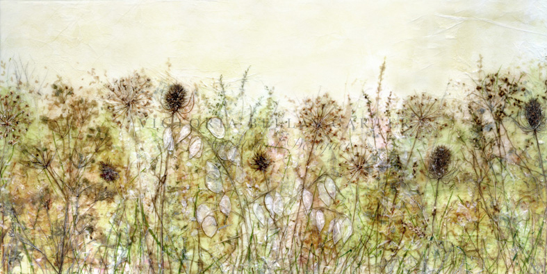 'Golden Aspirations' Limited edition print, professionally mounted and framed, price £150