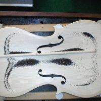 Vio-5, plate tuning (Chladni mode 5)