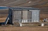 Old trappers hut Dolerittneset