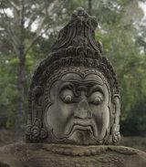 Guardian at the gateway to Angkor Thom