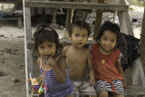 Some of the children of Preah Dak - this is an extremely poor village