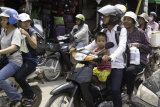 The only way to travel, you often saw 4 or more people on a motor cycle