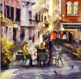 WINTER MORNING COFFEE VENICE